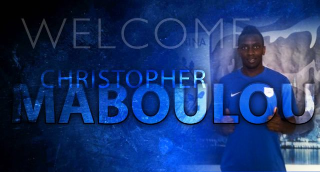 PAS.gr welcomes  Christopher Maboulou